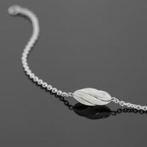 Carambole inspired silver bracelet