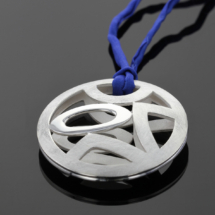 Elements pendant in silver