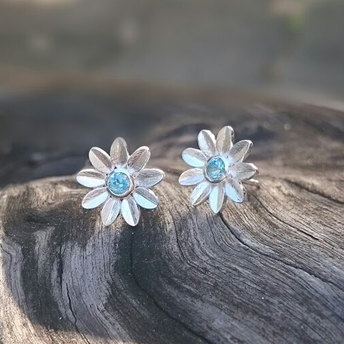 Silver floral designs made in Mauritius