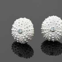 The Mauritius sea urchin collection in sterling silver