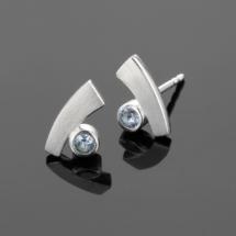 Blue Topas earrings Mauritius