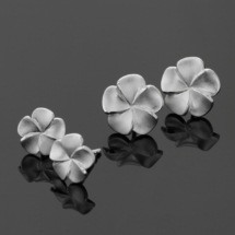 Sterling silver flower jewellery made in Mauritius