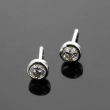 Sterling silver studs made in Mauritius