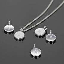 Initial pendants mauritius