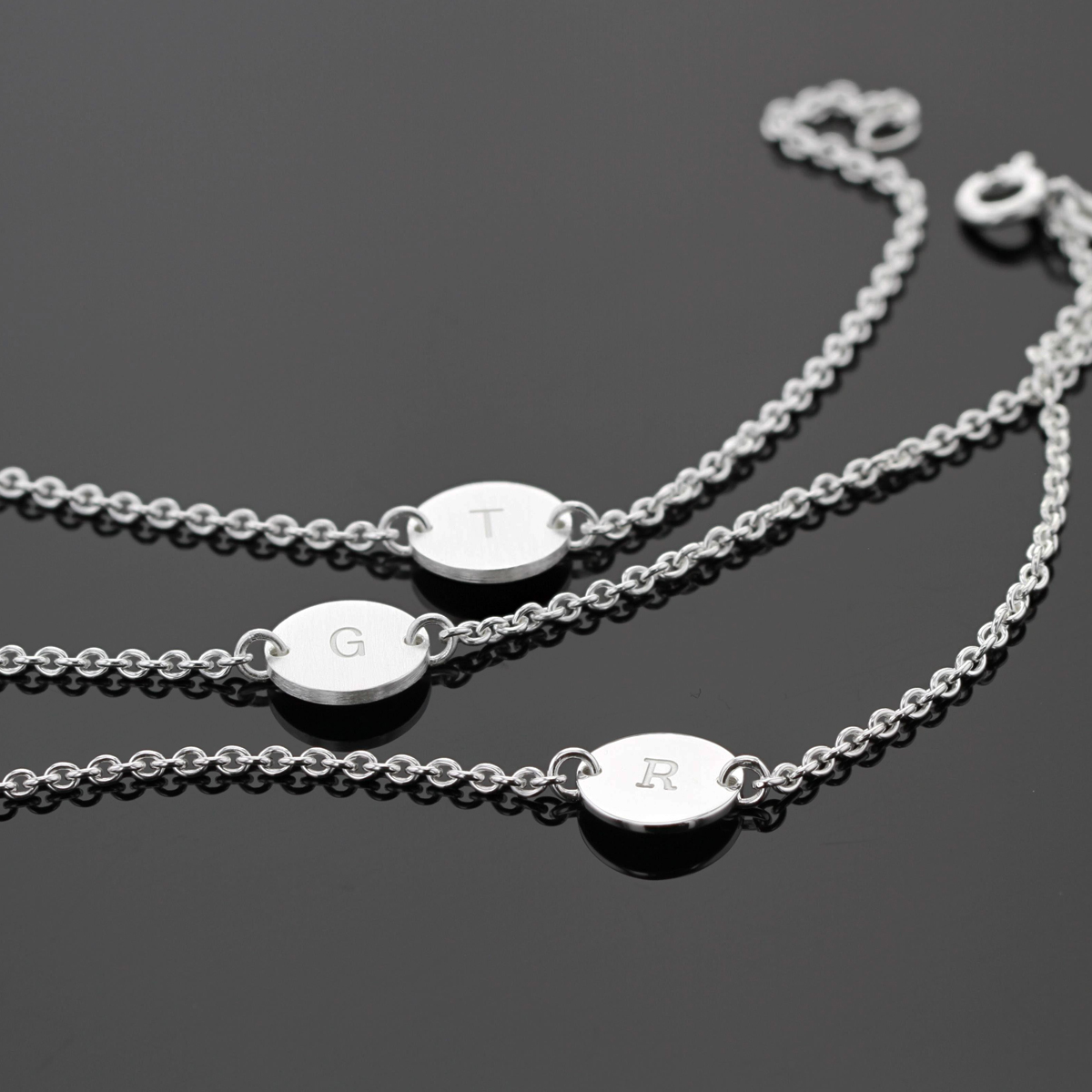 Personalised jewellery in sterling silver