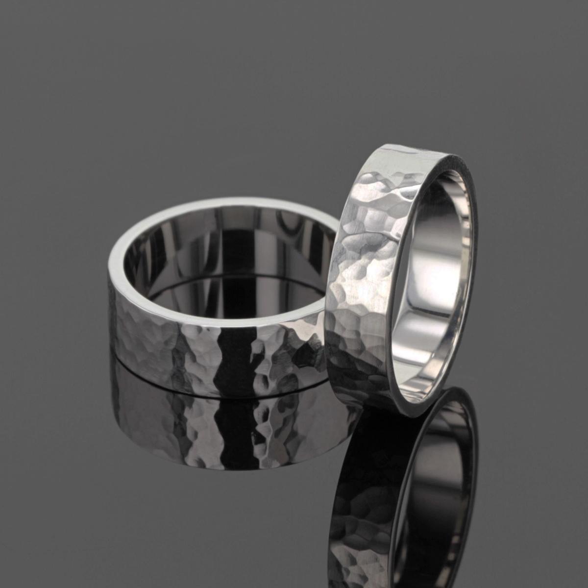 White gold wedding rings Mauritius