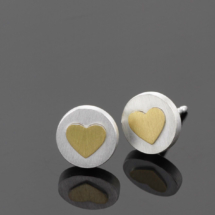 Heart earrings Mauritius