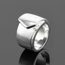 Solid sterling silver rings Mauritius