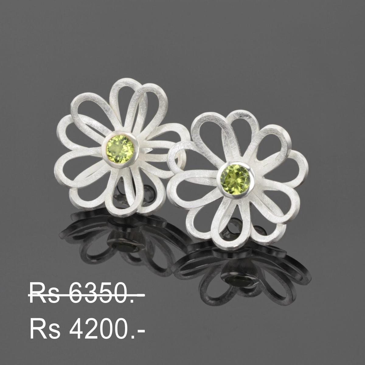 Discounted silver earrings