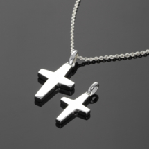 Silver crosses Mauritius