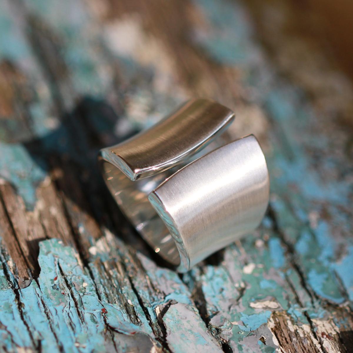 Plain silver rings Mauritius