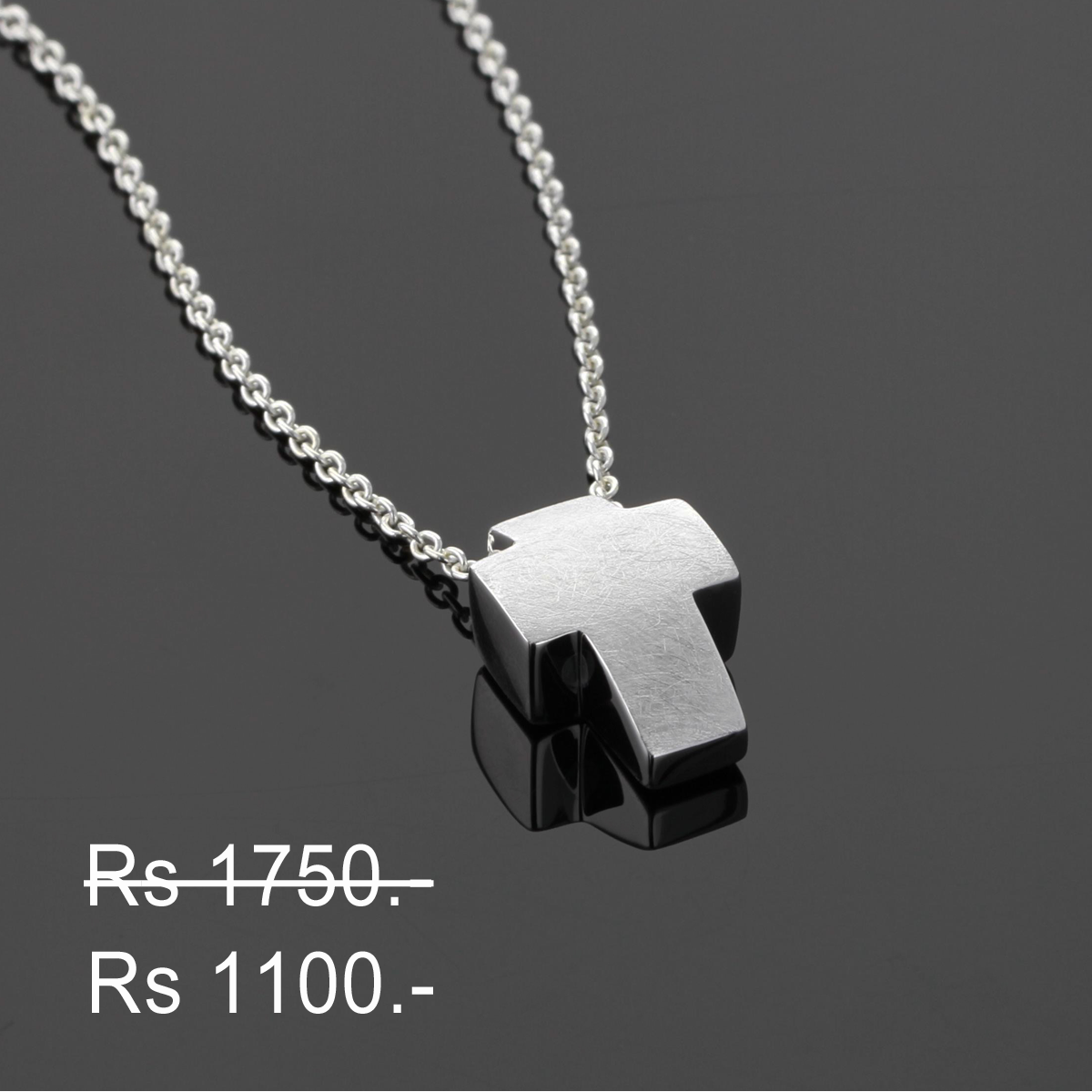 Silver cross pendants Mauritius