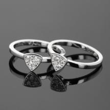 Silver and Zirconia jewellery