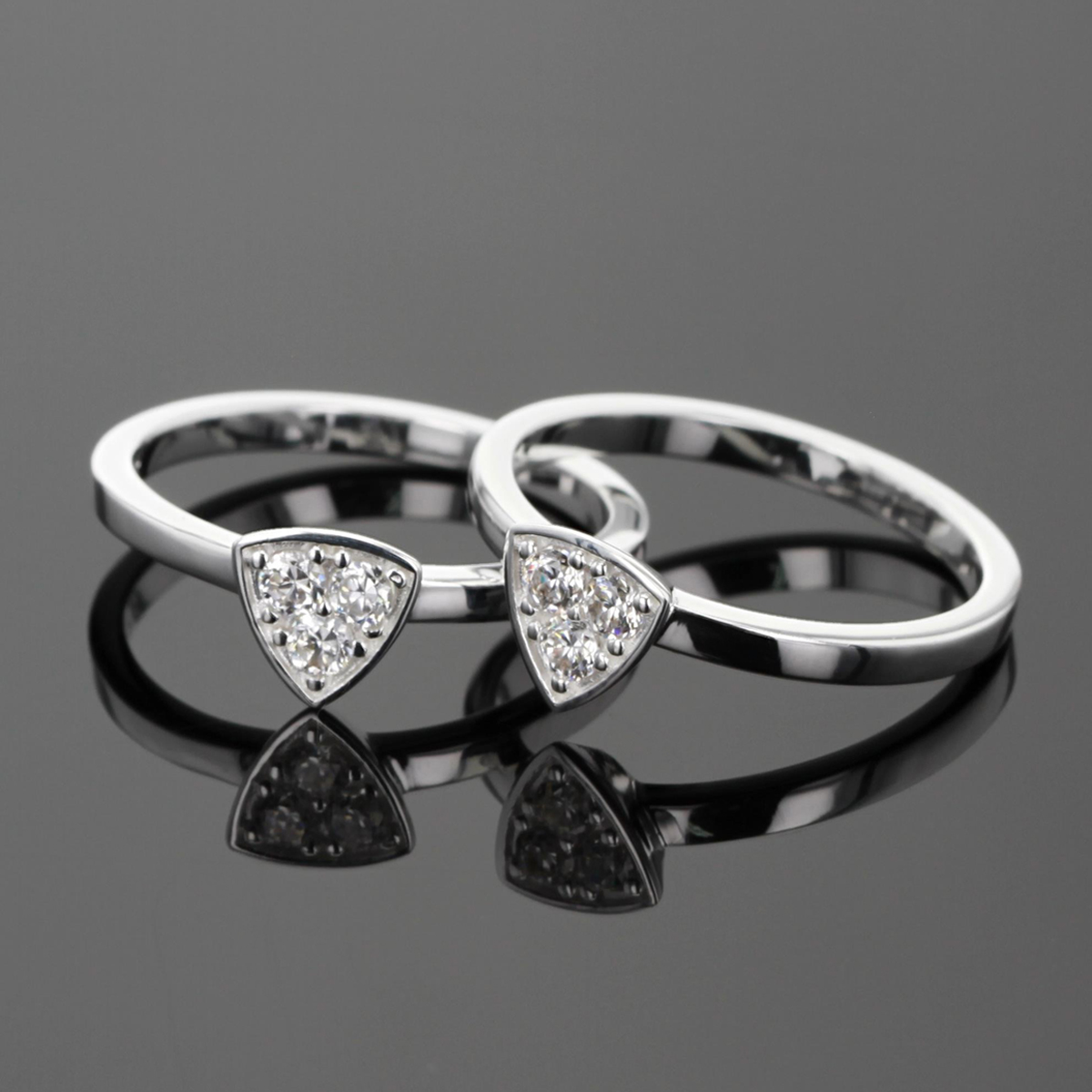 Silver and Zirconia jewellery