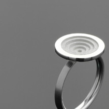 Sterling silver ring Mauritius