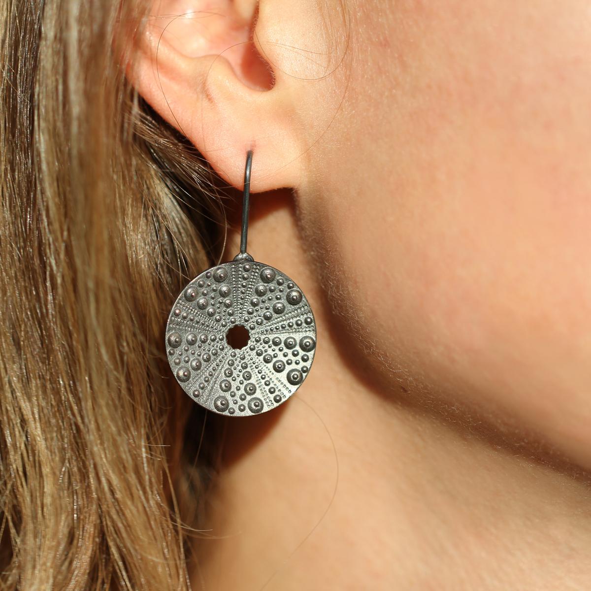 Oxidised silver jewellery