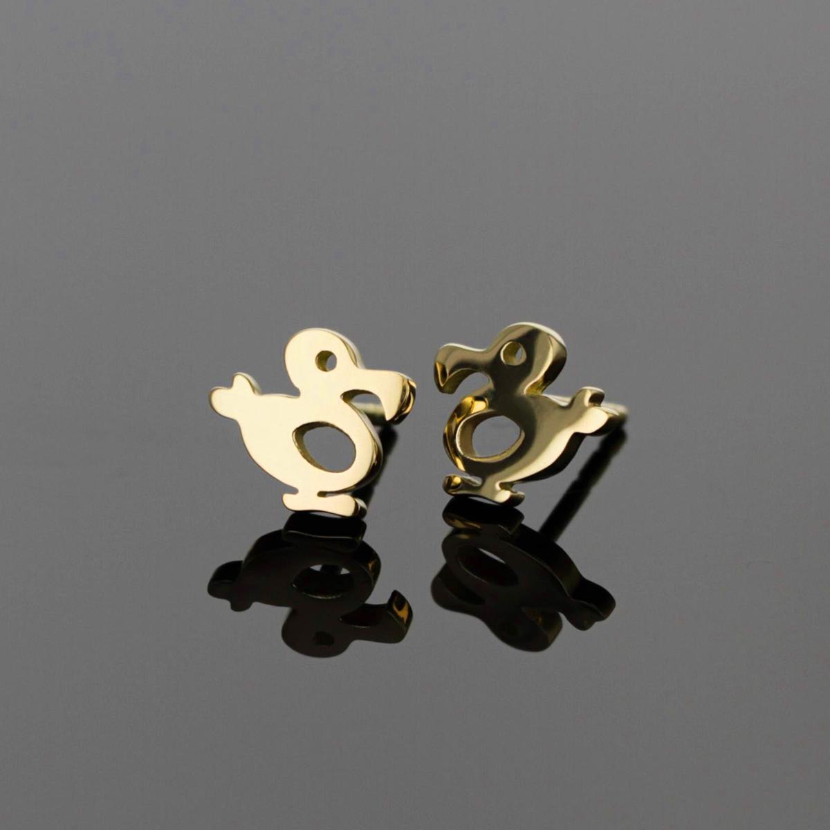 Gold dodo jewellery Mauritius