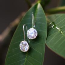 Silver and zirconia jewellery Mauritius
