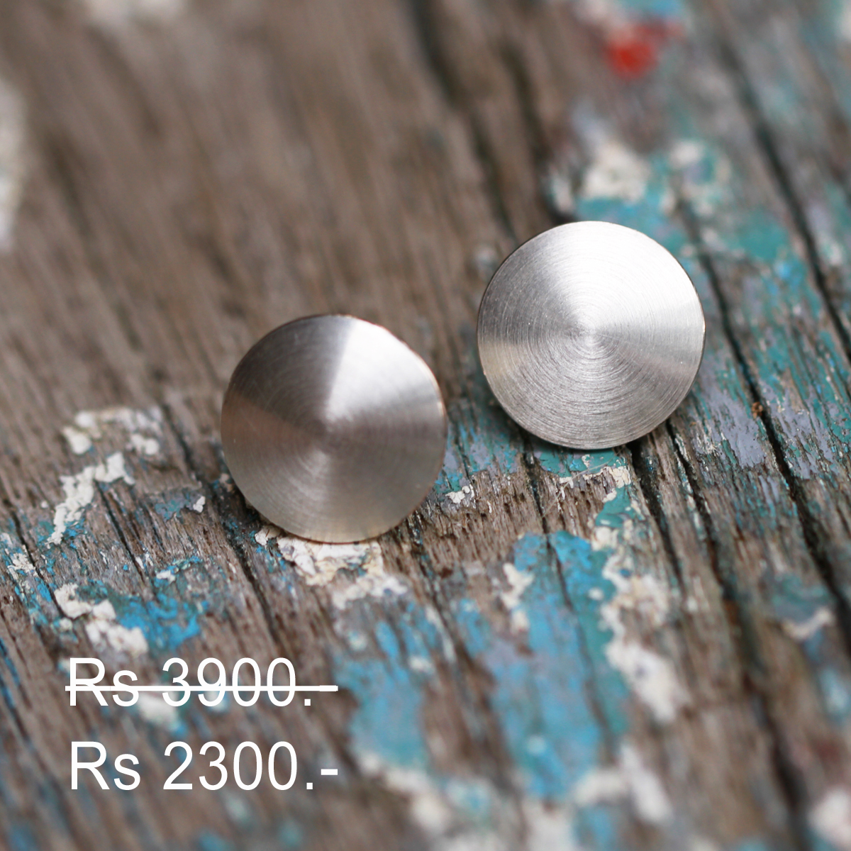 Silver earrings discount
