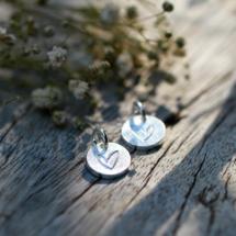 Couple pendants heart