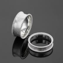 Unique silver rings Mauritius